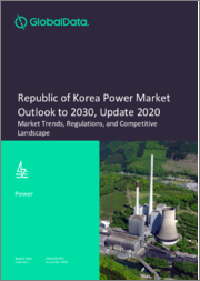 Republic of Korea Power Market Outlook to 2030, Update 2020 - Market Trends, Regulations and Competitive Landscape