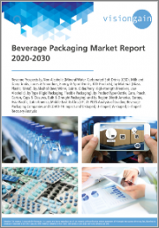Beverage Packaging Market Report 2020-2030: Revenue Prospects by Material, by Alcohol/ Non-Alcoholic, by Type/Product, by Region, Analysis of Leading Companies, COVID-19 Impact & V-shaped, U-shaped, W-shaped, L-shaped Recovery Analysis