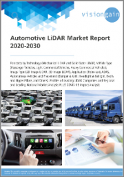 Automotive LiDAR Market Report 2020-2030: Forecasts by Technology, Vehicle Type, Image Type, Placement, Profiles of Leading LiDAR Companies, Regional and Leading National Market Analysis, plus COVID-19 Impact Analysis