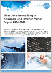 Fiber Optic Networking in Aerospace & Defence Market Report 2020-2030: Forecasts by Application (Airborne, Land, Naval, Space), Component, Mode, Profiles of Leading Fiber Optic Networking Companies, Regional & Leading National Market Analysis