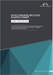 Post-consumer Recycled Plastics Market by Polymer Type, Service, Processing Type (Mechanical, Chemical, Biological), End-use Application (Packaging, Building & Construction, Automotive, & Others), & Region-Global Forecast to 2025