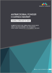 Antimicrobial Powder Coatings Market by Additive Type (Silver, Zinc, Copper & Others), End-use Industry (Medical & Healthcare, Appliances, HVAC, Food Equipment, General Industry, Transportation, Fitness Equipment), & Region - Global Forecast to 2025