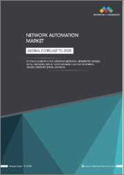 Network Automation Market by Network Automation Tool, Intent-Based Networking, Network Type (Physical, Virtual, and Hybrid), Service, Deployment Mode (Cloud and On-Premises), End User, Enterprise Vertical, and Region - Global Forecast to 2025