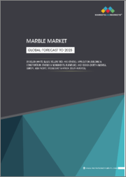 Marble Market by Color (White, Black, Yellow, Red, and Others), Application (Building & Construction, Statues & Monuments, Furniture), and Region (North America, Europe, Asia Pacific, Middle East & Africa, South America) - Global Forecast to 2025