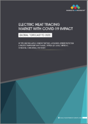 Electric Heat Tracing Market with COVID-19 Impact, by Type (Self Regulating, Constant Wattage), Application (Freeze Protection & Process Temperature Maintenance), Vertical (Oil & Gas, Chemicals, & Others), Region-Global Forecast to 2025