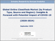 Global Online Classifieds Market (by Product Type, Source and Region): Insights & Forecast with Potential Impact of COVID-19 (2020-2024)