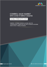 Control Valve Market with COVID-19 Impact Analysis, By Material, Component (Actuators, Valve Body), Size, Type (Rotary and Linear), Industry (Oil & Gas, Water & Wastewater Treatment, Energy & Power, Chemicals), and Region - Global Forecast to 2025
