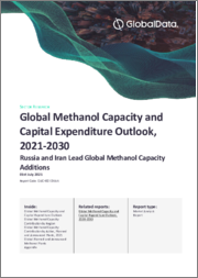 Global Methanol Capacity and Capital Expenditure Outlook to 2030 - Former Soviet Union and Asia Lead Global Capacity Additions