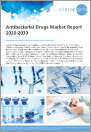 Antibacterial Drugs Market Report 2020-2030: Forecasts by Type, Penicillins, Fluoroquinolones, Macrolides, Carbapenems, Others, by Distribution Channel, by Region, Analysis of Leading Drug Discovery Outsourcing Companies, COVID-19 Recovery Scenarios