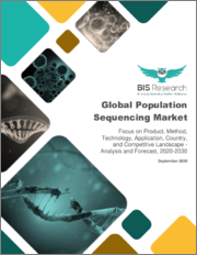 Global Population Sequencing Market: Focus on Product, Method, Technology, Application, Country, and Competitive Landscape - Analysis and Forecast, 2020-2030