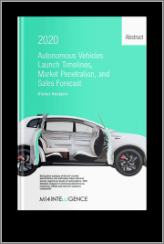 Autonomous Vehicle OEM Launch Timelines, Penetration, and Forecast, Edition 2020