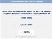 Global Steel Industry (China, India, EU, NAFTA & Japan): Insights & Forecast with Potential Impact of COVID-19 (2020-2024)