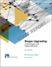 Biogas Upgrading: Technologies and Global Markets