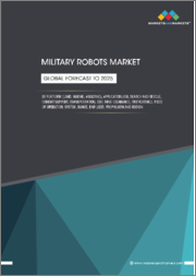 Military Robots Market by Type (Land, Marine, Airborne), Application, System, Deployment Method, Range, End User (Defense, Homeland Security), Mode of Operation, Propulsion and region - Global Forecast to 2025