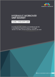 Hydraulic Workover Unit Market by Service (Workover & Snubbing), Installation (Skid Mounted & Trailer Mounted), Capacity (0-50 Tonnes, 51-150 Tonnes, and Above 150 Tonnes), Application (Onshore, Offshore), and Region - Global Forecast to 2025