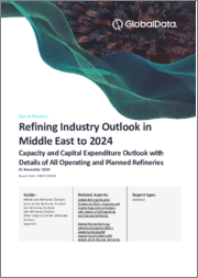Refining Industry Outlook in Middle East to 2024 - Capacity and Capital Expenditure Outlook with Details of All Operating and Planned Refineries