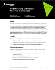 Grid Hardening and Disaster Recovery Technologies