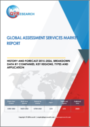 Global Assessment Services Market Report, History and Forecast 2015-2026, Breakdown Data by Companies, Key Regions, Types and Application