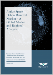 Active Space Debris Removal Market - A Global Market and Regional Analysis: Focus on Space Debris Removal Techniques, Mode of Operation, Autonomy, Debris-Size, and Orbit - Analysis and Forecast, 2020-2030