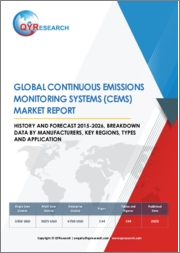Global Continuous Emissions Monitoring Systems (CEMS) Market Report, History and Forecast 2015-2026