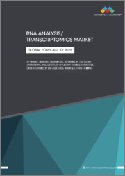 RNA Analysis/ Transcriptomics Market by Product (Reagents, Instruments, Software), Technology (Microarrays, NGS, Sanger), Application (Clinical Diagnostics, Drug Discovery), End User (CROs, Hospitals), COVID-19 Impact - Global Forecast to 2025