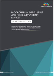 Blockchain in Agriculture and Food Supply Chain Market by Application (Product Traceability, Payment and Settlement, Smart Contracts, and Governance, Risk and Compliance Management), Provider, Organization Size, and Region - Global Forecast to 2025