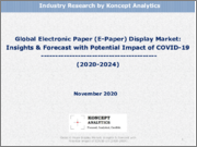 Global Electronic Paper (E-Paper) Display Market: Insights & Forecast with Potential Impact of COVID-19 (2020-2024)