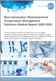 Next-Generation Pharmaceutical Temperature Management Solutions Market Report 2020-2030: Forecasts by Solution Type (Hardware, Software), by Applications (Logistics, Laboratory Storage, Hospitals, Clinics), by Region and Analysis of Leading Companies