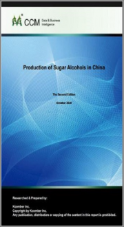 Production of Sugar Alcohols in China