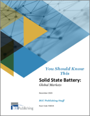 Solid State Battery: Global Markets