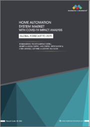 Home Automation System Market with COVID-19 Impact Analysis, By Management, Product (Lighting Control, Security & Access Control, HVAC Control, Entertainment & Other Controls), Software & Algorithm, and Region - Global Forecast to 2025
