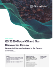 Global Oil and Gas Discoveries Quaterly Review, Q3 2020 - Norway Led Discoveries Count in the Quarter