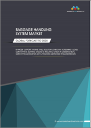 Baggage Handling System Market by Mode (Airport, Marine, Rail), Solution (Check-In, Screening & Load, Conveying & Sorting, Unload & Reclaim), Check-In (Assisted, Self), Conveying (Conveyor, DCV), Tracking (Barcode, RFID),Region - Global Forecast to 2025
