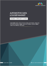 Automotive Data Logger Market by End Market (OEMs, Service Stations, and Regulatory Bodies), Application, Post-Sales Application, Channels, Connection Type, and Region (Asia Pacific, Europe, North America, and RoW) - Global Forecast to 2025