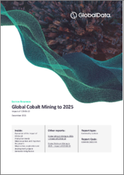 Global Cobalt Mining to 2024 - Update with Impact of COVID-19