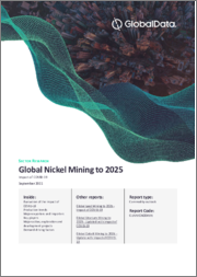 Global Nickel Mining to 2025 - Analysing Reserves and Production by Country, Global Assets and Projects, Demand Drivers and Key Players