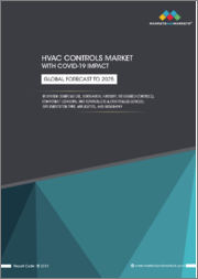 HVAC Controls Market with COVID-19 Impact by System (Temperature, Integrated Controls), Component (Sensors, and Controllers & Controlled Devices), Implementation Type (New Construction, Retrofit), Application, and Geography - Global Forecast to 2025