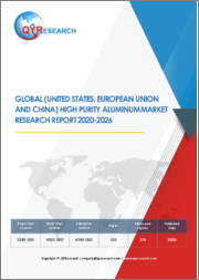 Global (United States, European Union And China) High Purity Aluminum Market Research Report 2020-2026