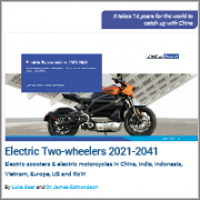 Electric Two-wheelers 2021-2041