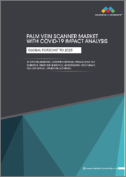 Palm Vein Scanner Market with COVID-19 Impact Analysis by Offering (Hardware, Software & Services), Product (Palm Vein Biometrics, Finger Vein Biometrics), Authentication, Functionality, End-User Vertical, Application, & Region - Global Forecast to 2025