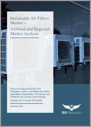 Sustainable Air Filters Market - A Global & Regional Market Analysis: Focus on Products (HEPA/ULPA, Fiberglass, Carbon, & Baghouse Filters), Applications (Residential, Commercial, & Industrial), & Country-Level Analysis-Analysis & Forecast, 2019-2025