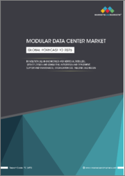 Modular Data Center Market by Solution (All-in-One Modules and Individual Modules), Service (Design and Consulting, Integration and Deployment, Support and Maintenance), Organization Size, Industry, and Region - Global Forecast to 2025