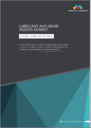 Lubricant Anti-wear Agents Market by Type (ZDDP, Phosphate, Phosphite, Phosphonate) by Application (Engine Oil, Automotive Gear Oil, Automotive Transmission Fluid, Hydraulic oil, Metalworking Fluid, Grease) and Region - Global forecast to 2025