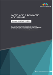 Lactic Acid Market by Application (Biodegradable Polymers, Food & Beverages, Pharmaceutical Products), Form, and Region, Polylactic Acid Market, by Application (Packaging, Fiber & Fabrics, Agriculture), Form, and Region - Global Forecast to 2025