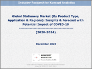 Global Stationery Market (By Product Type, Application & Regions): Insights & Forecast with Potential Impact of COVID-19 (2020-2024)