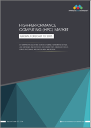 High Performance Computing (HPC) Market by Component (Solutions [Servers, Storage, Networking Devices, and Software] and Services), Deployment Type, Organization Size, Server Prices Band, Application Area, and Region - Global Forecast to 2025