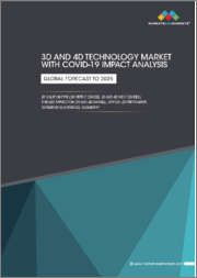 3D and 4D Technology Market with COVID-19 Impact Analysis by Solution Type (3D Output Devices, 3D and 4D Input Devices), End-use Application (3D and 4D Gaming), Vertical (Entertainment, Consumer Electronics), Geography - Global Forecast to 2025