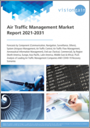Air Traffic Management Market Report 2021-2031: Forecasts by Component (Communication, Navigation, Surveillance, Others), System, End-use, Region, Analysis of Leading Companies, and COVID-19 Recovery Scenarios
