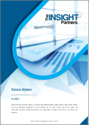 Raisins Market Forecast to 2027 - COVID-19 Impact and Global Analysis by Product Type ; Nature ; End User ; Distribution Channel ; and Geography