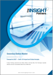 Secondary Battery Market Forecast to 2027 - COVID-19 Impact and Global Analysis by Technology ; Application